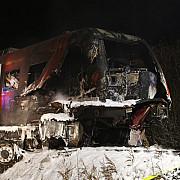 accident fatal camionul unui sofer roman a fost lovit de tren in germania