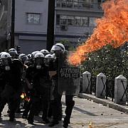 greva generala in grecia confruntari intre politie si manifestanti