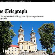 finantarea pentru restaurarea manastirii maria radna a fost blocata dupa un articol aparut in the telegraph