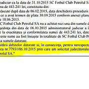 spfl ploiesti acuza administratorul judiciar al clubului petrolul