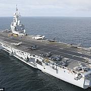 avioanele portavionului francez charles de gaulle au atacat tinte si din siria si din irak