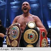 boxwladimir klitschko a fost batut de tyson fury si a pierdut 4 centuri mondiale
