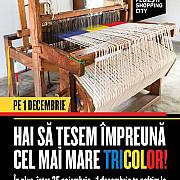 cel mai lung tricolor tesut la razboi va fi realizat in ploiesti de 1 decembrie