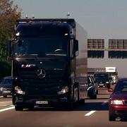 camionul fara sofer a trecut de primul test sistemul special cu care este dotat