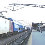 traficul feroviar se desfasoara cu dificultate la gara de nord