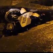 politistul care a cazut cu motocicleta intr-o groapa a decedat