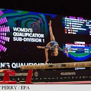 gimnastica echipa feminina a romaniei doar locul 13 in calificari la mondiale