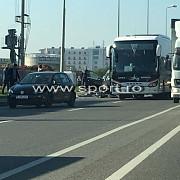 autocarul astrei a fost implicat intr-un accident pe centura bucurestiului