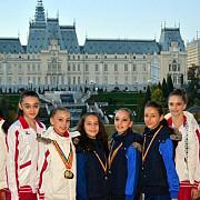 opt medalii la nationale pentru micile zane ale gimnasticii de la csm ploiesti