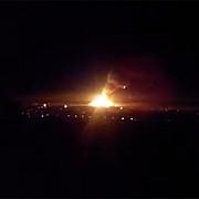 ucraina incendiu la un depozit militar aflat in apropierea zonei controlate de prorusi