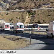 turcia 10 morti intr-un atac atribuit pkk impotriva unui microbuz al politiei