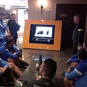 lupii au vazut tragerea la sorti impreuna in holul hotelului ce spune sebi tudor despre meci