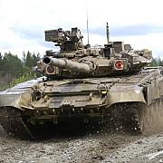 rusia a adus tancuri in siria