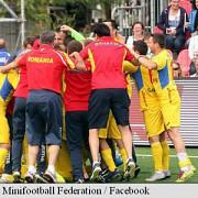 minifotbal romania a cucerit al saselea titlu european