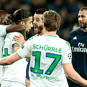 real madrid invinsa la wolfsburg psg si city au remizat video