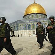 israelul desfasoara forte suplimentare in jurul esplanadei moscheilor din ierusalim