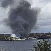 un elicopter cu 15 oameni la bord s-a prabusit in norvegia