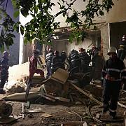 iasi nou incendiu in blocul afectat de o explozie soldata cu doi morti si 11 raniti