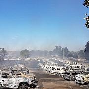 incendiu de proportii in portugalia 422 de masini au fost complet distruse