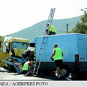un microbuz cu fotbalisti implicat intr-un grav accident a fost activat planul rosu de interventie
