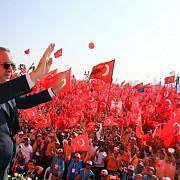 demonstratie pentru occident erdogan a adunat sute de mii de oameni la un miting