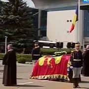 presedintele republicii moldova si sotia sa au depus o coroana de flori la castelul peles in memoria reginei ana