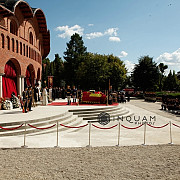 funeraliile reginei anamii de oameni au asistat la slujba de la curtea de arges
