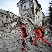 aproximativ 50 de familii afectate de cutremurul din italia vor primi ajutoare de urgenta de la statul roman