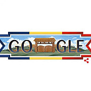 google si-a modificat logoul de ziua romaniei