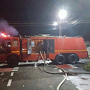barbat gasit carbonizat dupa ce rulota in care locuia a luat foc la moara noua