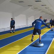 lupii s-au pregatit in noua sala de atletism de la ilie oana