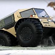 video un rus a construit atv-ul care merge oriunde