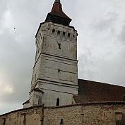 turnul bisericii fortificate din rotbav s-a prabusit