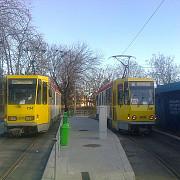 tramvaiul 101 a revenit oficial pe traseu foto