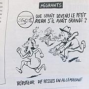 libertatea de a fi prost ultima caricatura din revista charlie hebdo a dezgustat intreaga lume