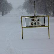 iarna in prahova update ora 1118 doua drumuri judetene sunt inchise