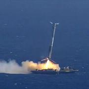 racheta spacex a ratat aterizarea pe o barja din pacific