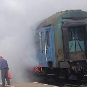 incendiu in trenul targoviste-pietrosita