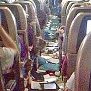 7 pasageri au ajuns la spital dupa ce avionul a intalnit turbulente severe
