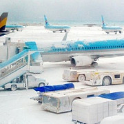 asia estica paralizata de zapada in unele zone a nins pentru prima data dupa 115 ani