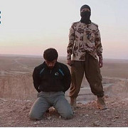 jihadist francofon intr-o inregistrare cu o executie a unor ostatici si