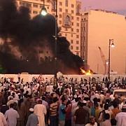 arabia saudita trei morti dupa ce un atacator sinucigas s-a detonat in apropierea moscheii principale din medina