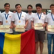 lotul olimpic de informatica al romaniei a obtinut doua medalii de aur si doua de argint la balcaniada pentru seniori