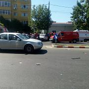 accident in mihai bravu foto