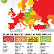 lista tarilor aflate sub risc crescut de atentate