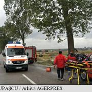 accident grav pe dn 22 coliziune frontala intre doua autoturisme