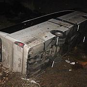tragedie in turcia un autocar cu copii a cazut intr-un canal cel putin 14 persoane au murit
