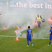 fanii croati si-au sabotat nationala incidente grave la meciul cu cehia