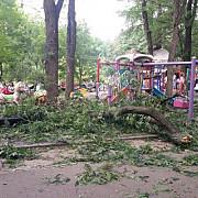 accident intr-un parc din bucuresti doua femei si patru copii au fost raniti