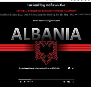 albanezii fac si misto de noi hackerii au atacat site-ul frf si au afisat un logo